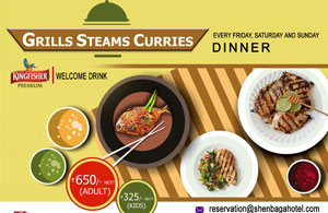 Grills steams curries