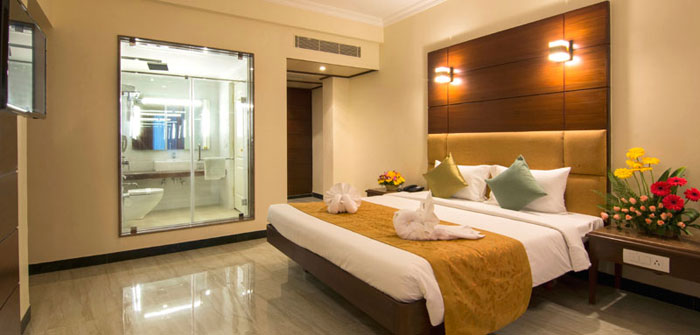 Count Suite Rooms At Shenbaga Hotel In Pondicherry